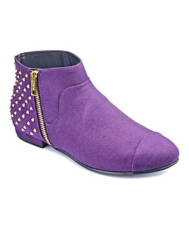Catwalk Collection Studded Ankle Boots E
