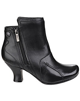 Hush Puppies Lydie Zip up Ankle Boot