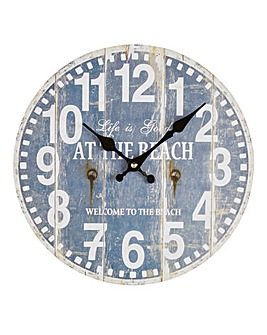 Hometime Drift Away 30cm Wall Clock