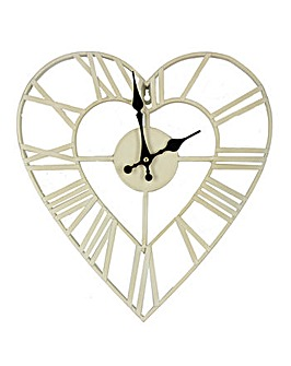 Hometime 34.5cm Metal Wall Clock