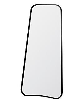 Kurva Black Leaner Mirror