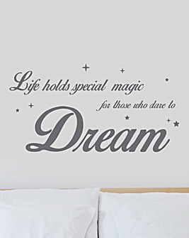 Dare to Dream Wall Sticker