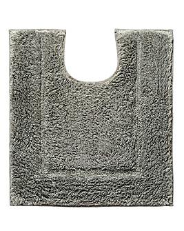 Silky Supersoft Pedestal Mat Slate