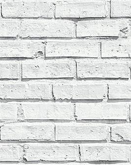 Arthouse Brick Wallpaper