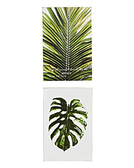 Fern MDF Plaque pack 2