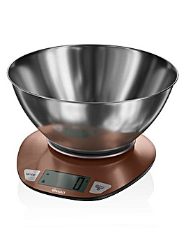 Swan Electronic Scale with Bowl - Copper