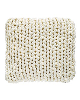 Loxley Jumbo Knit Cushion