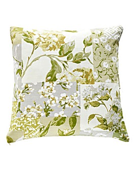Charleston Patchwork Print Cushion