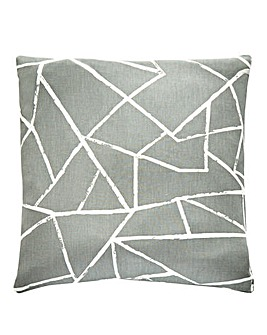 Grey Smash Cushion