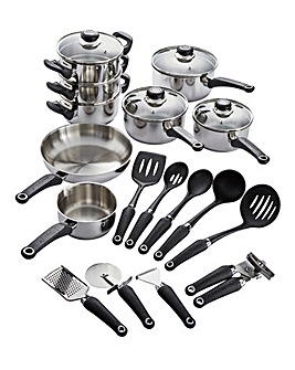 Morphy Richards 8pc Pan Set & Free Tools