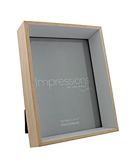 Wooden Box Photo Frame 5 x 7