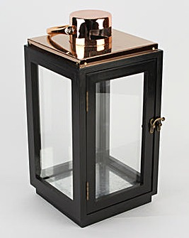 Lantern Black and Copper