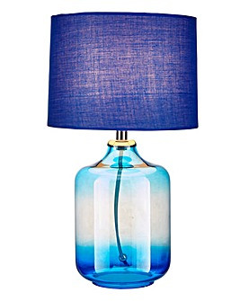 Oliver Ombre Table Lamp Blue