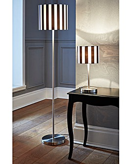 Stripe Table lamp + Floor lamp Set of 2