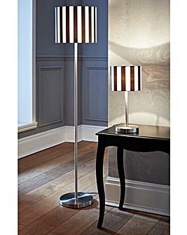 Stripe Table lamp + Floor lamp Set of 2