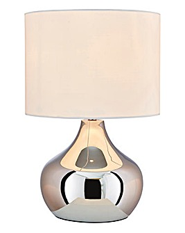 Adele Touch Table Lamp - Chrome