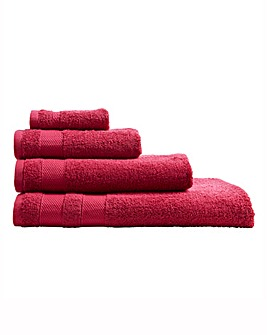 Egyptian Cotton Towel Range Raspberry