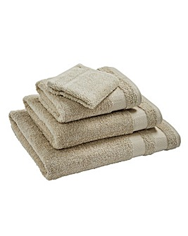 Egyptian Cotton Towel Range Stone