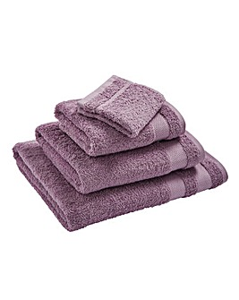 Egyptian Cotton Towel Range Mauve