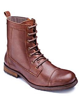 Jacamo Lace Up Military Boots S Fit