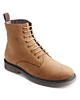 Jacamo Lace Up Military Boots Standard
