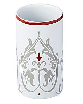 Damask series ceramic tumbler