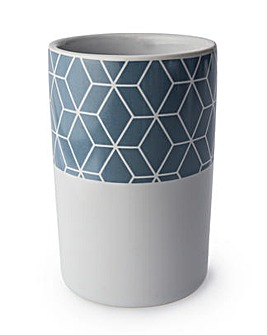 Geometric series ceramic tumbler