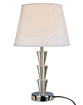Florence 3 Tier Crystal Table Lamp