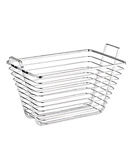 Modern Chrome Basket