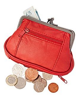 Soft Leather Multi Pocket Purse