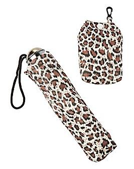 Leopard Print Umbrella Gift Set
