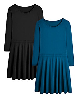 Pack of 2 Skater Tunics