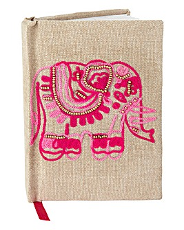 Embellished Elephant Notebook