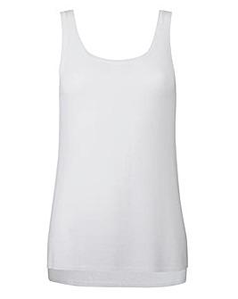 Linen Mix Vest