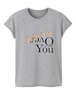 Over You Tshirt