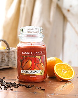 Yankee Candle Spiced Orange Large Jar