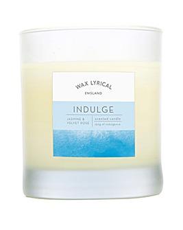 Wax Lyrical Indulge Glass Candle