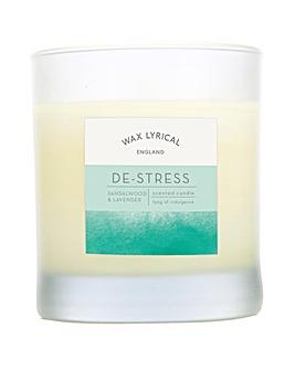 Wax Lyrical De-Stress Glass Candle