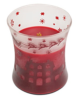 Wood Wick Pomegranate Scenic Jar