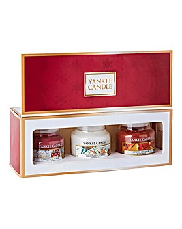 Yankee Candle Set 3 Christmas Small Jars