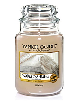 Yankee Candle Warm Cashmere Large Jar