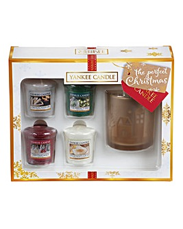 Yankee Candle Christmas Votives Gift Set