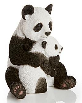 Panda Hugging Cub