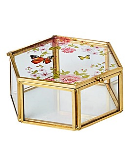 Butterfly Garden Jewellery Box