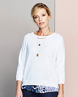 Split Back 2-in-1 Jumper