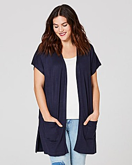 Grown-On Sleeve Cardigan