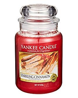 Yankee Candle Sparkling Cinnamon Jar