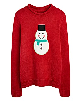 Christmas Snowman Jumper