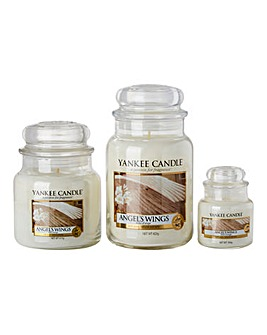 Yankee Candle Angel Wings Triple Jar Set