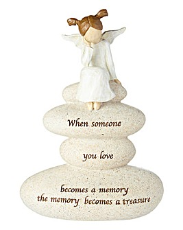 Angel Memorial Figurine
